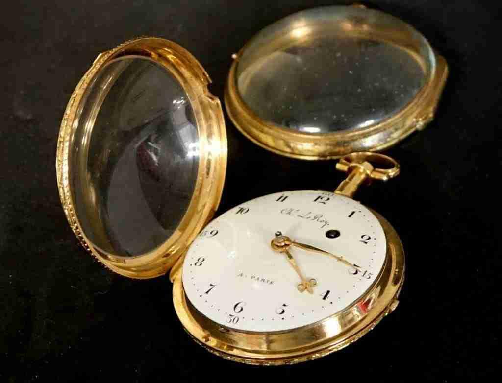 Orologio da tasca oro Charles le Roy Paris