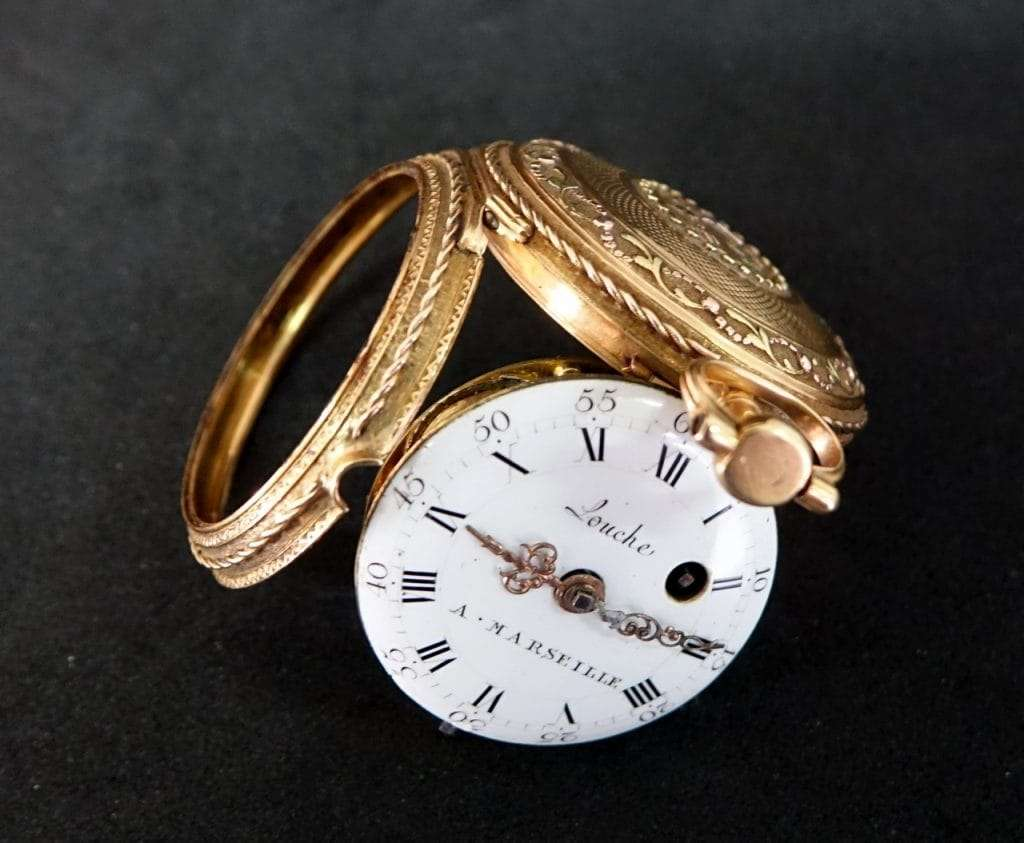 Orologio da tasca firmato Louche a Marseille