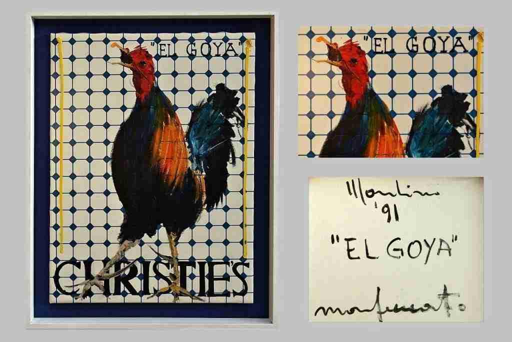 Aldo Mondino El GOYA Christie's 91 Monferato
