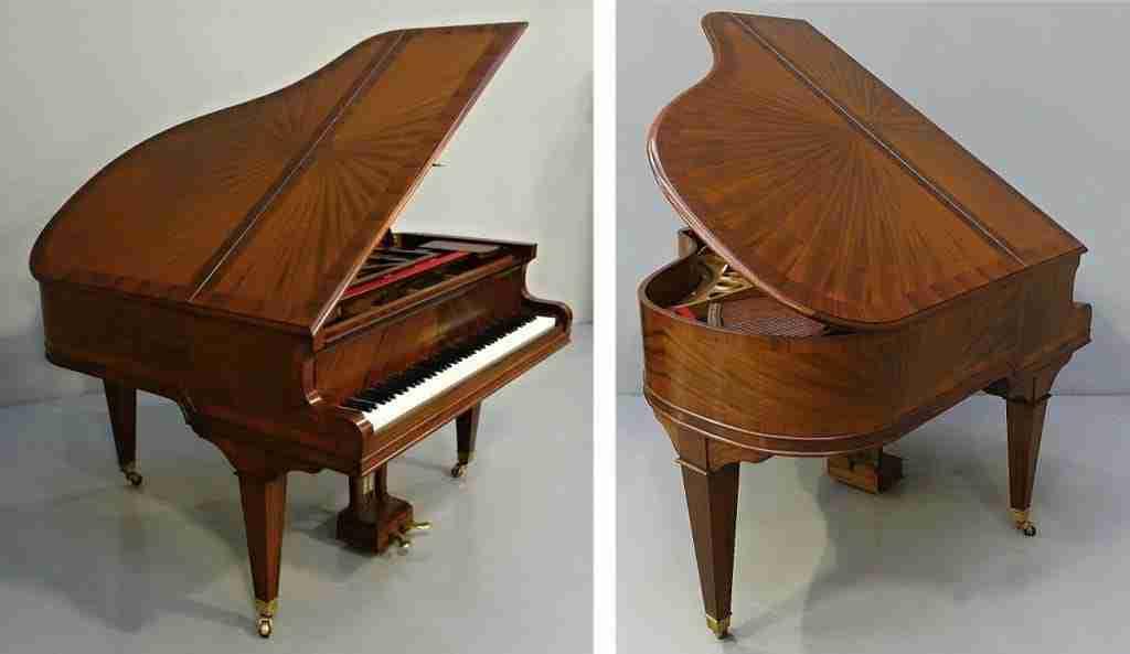 Pianoforte quarto di coda Gaveau Paris 1118014