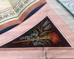 Sconto 50% Soffitto dipinto tempera su tela Filippo Comerio (attr.)