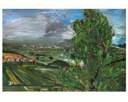Dipinto olio su cartoncino Gigi Cuniolo