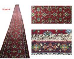 Grande tappeto passatoia 18mt