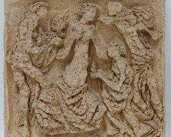 Scultura in terracotta firmata Ciminaghi