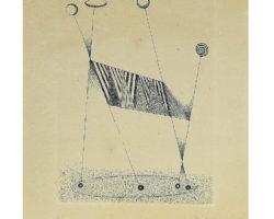 Fausto Melotti - Litografia Melotti - Natale 1982