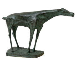 Scultura in bronzo Virgilio Ciminaghi 1947