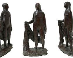 Arturo Martini La Casta Susanna (o Nudino) 1935 Scultura in bronzo