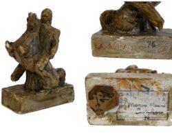 """Marino Marini scultura raffigurante """"cavaliere"""""""