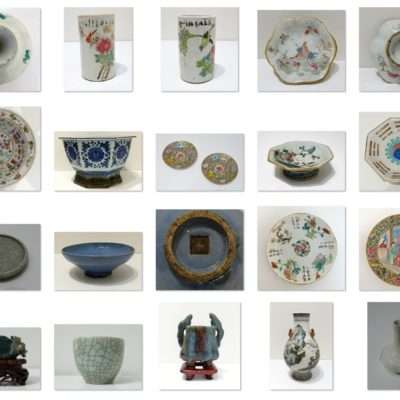 CHINESE CERAMICS and SCULPTURES (FROM A COUNTESS LIVED IN CHINA FIRST 900)