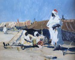 Lorenzo Delleani - dipinto orientalista