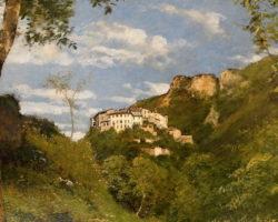 Marco Calderini - Veduta di Castello comune di Valsolda Como