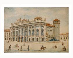 Dipinto miniatura firmato E. Bressy - Palazzo Madama Torino