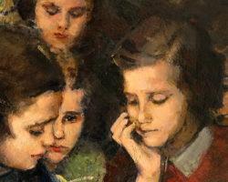 Venanzio Zolla dipinto ad olio