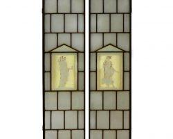 Ante vetri design stile Gio Ponti anni 30
