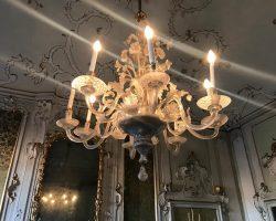 Lampadario in Vetro di Murano 8 luci