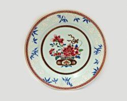 Lotto 22 piatti Compagnia delle Indie XVIII secolo Cina
