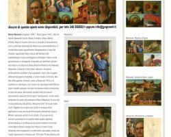 Collezione di dipinti - Mario Maserati (Voghera 1890 – Novi Ligure 1981)