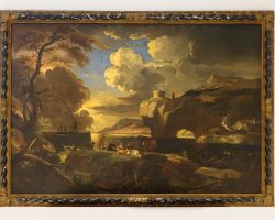 Pieter Mulier Cavalier Tempesta dipinto paesaggio