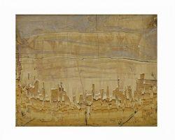 Quadretto in pietra paesina epoca 700/800 in cornice originale Grand Tour