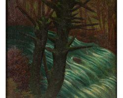 Картина маслом на холсте - Геранзани Корнелио - Sull'Aveto