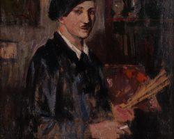 Картина маслом - Северино Трематор - Автопортрет 1930