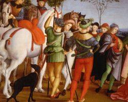 Dipinto copia d'arte Raffaello Sanzio - Musei Vaticani