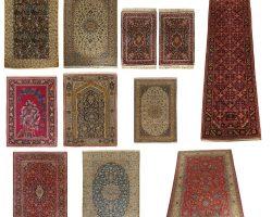 Collezione tappeti antichi con annodatura finissima