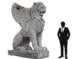 Statua da Giardino - Sfinge prototipo per la stazione centrale di Milano arch. Stacchini/ De Grandi